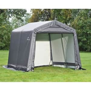 ShelterLogic XT 10x10-Foot Extra Tall Shed-in-a-Box for $180