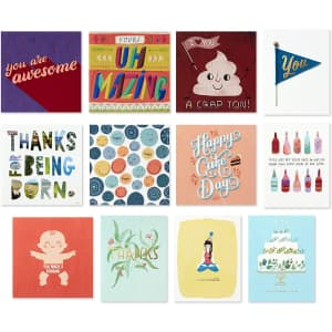 Hallmark Good Mail All Occasion Boxed Greeting Cards Assortment for $17