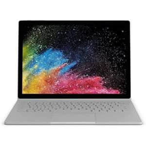 Microsoft Surface Book, Intel Core i5-6300U, 8GB RAM, 128GB SSD, LCK-00001 - (Renewed) for $574
