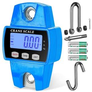 RoMech 600-Lb. Digital Hanging Crane Scale for $21