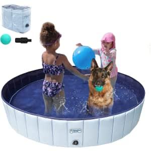 V-Hanver Collapsible Hard Plastic Pool for $38