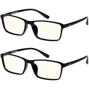 EFE Blue Light Blocking Glasses 2-Pack for $6