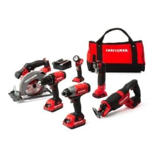 Craftsman V20 6-Tool 20V Max Power Tool Combo Kit for $249