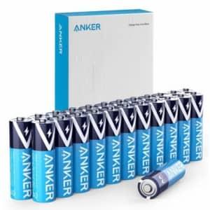 Anker Alkaline AA Batteries 24-Pack for $11