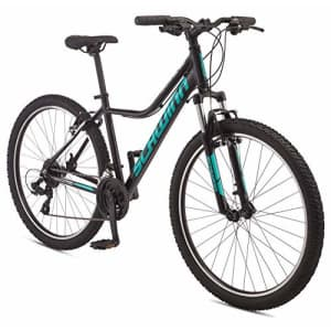 Schwinn Mesa 3 Adult Mountain Bike, 21 speeds, 27.5-inch Wheels, Medium Aluminum Frame, Black for $500