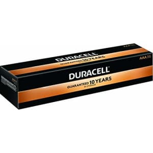 Duracell - CopperTop AAA Alkaline Batteries - Long Lasting, All-Purpose Triple A Battery for for $42