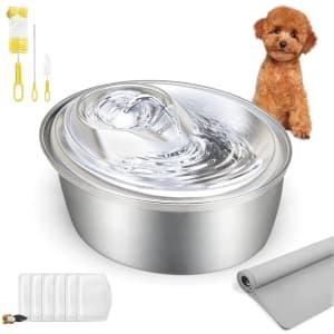 Orsda 100-Oz. Pet Water Fountain Bowl for $39