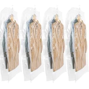 Taili Hanging Vacuum Space Saver Clothes Bag 4-Pk. for $12