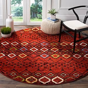 Safavieh Amsterdam Collection AMS108D Moroccan Boho Non-Shedding Stain Resistant Living Room for $90