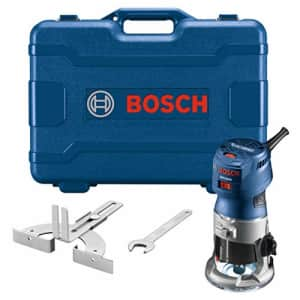 BOSCH GKF125CEK Colt 1.25 HP (Max) Variable-Speed Palm Router Kit with Edge Guide for $229