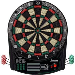 Franklin Sports Tournament Electronic Dartboard for $55