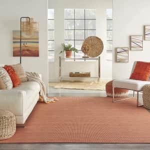 Nourison Positano Flat-Weave Indoor/Outdoor 5x7-Foot Rug for $32