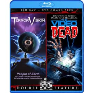 Shout Factory TerrorVision / The Video Dead (Bluray/DVD Combo) [Blu-ray] for $20