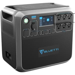 Bluetti 2,000W Portable Power Station for $1,597