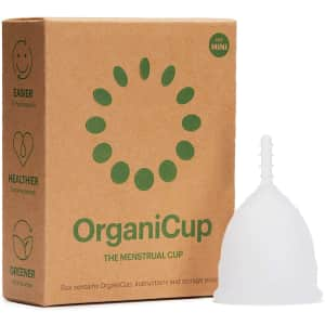 OrganiCup Menstrual Cup for $20