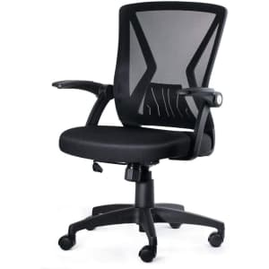 Kolliee Mid-Back Mesh Office Chair for $80