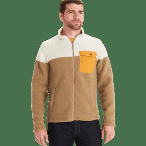 Marmot Men's Aros High-Pile Sherpa Fleece Jacket for $44
