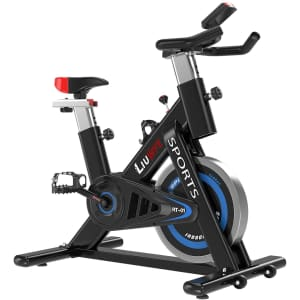 LIUWFE Indoor Stationary Cycling Bike for $180