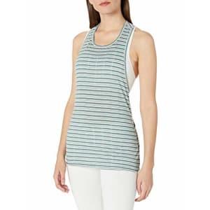 SHAPE activewear Women's Muscle Tank, sea Pine, XL for $39