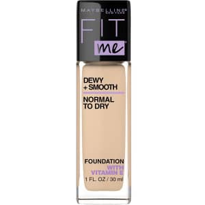 Maybelline New York Fit Me Dewy + Smooth Foundation Makeup for $2.99 via Sub & Save