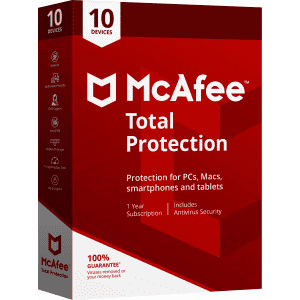 McAfee Total Protection 2-Year Subscription