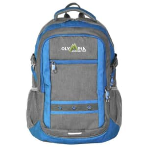 Olympia USA Eagle 25L USB Charger Backpack for $35