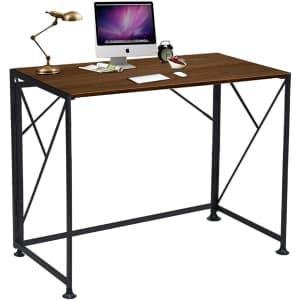 ComHoma Folding Computer Desk for $43