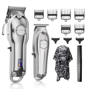 Suprent Cordless Hair Clippers Kit for $40
