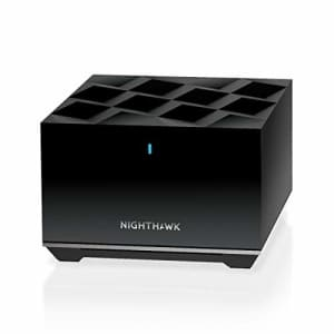 NETGEAR Nighthawk Tri-Band Whole Home Mesh WiFi 6 Add-on Satellite (MS80) add up to 2,250 sq. ft. for $150