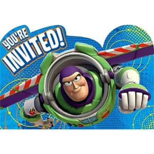 American Greetings Toy Story 3 Invite Postcards, 8 Count, Party Supplies for $10
