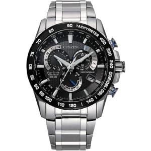 Citizen Men's PCAT Eco-Drive Titanium Chronograph Watch for $596