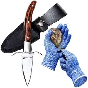 HiCoup Oyster Shucking Kit for $14