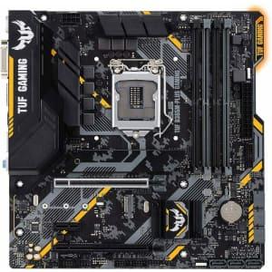 Asus TUF B365M-PLUS mATX Gaming Motherboard for $50