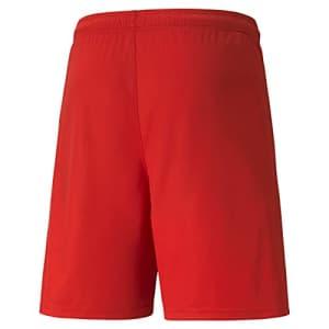 PUMA Men's TeamLIGA Shorts, Red/White, XXL for $20