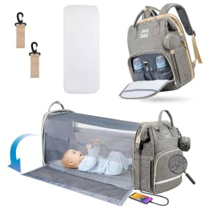Heatoo 3-in-1 Diaper Backpack for $47