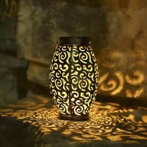 Tom-shine LED Solar Lantern for $15
