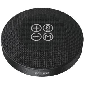 Wemiss by Aukey Bluetooth Speaker with Microphone for $30