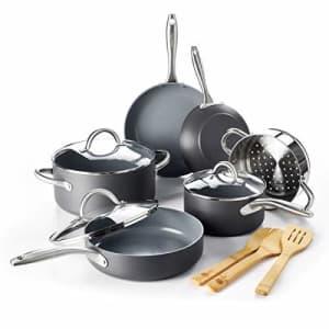 GreenPan Lima Ceramic Non-Stick Cookware Set, 12pc - CW000545-004 for $150