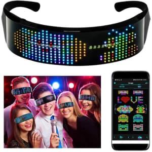 Aunont Customizable LED Glasses for $25