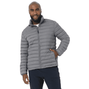 32 Degrees Men's Lightweight Recycled Poly-Fill Packable Jacket for $23