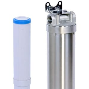 Hansing 3-Stage Whole House Water Softener System for $101