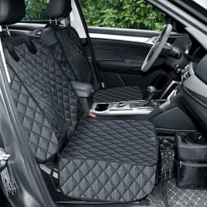 GSODC Waterproof Front Seat Car Cover 2-Pack for $31