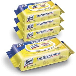 Lysol Disinfecting Wipes 320-Pack for $10 via Sub & Save
