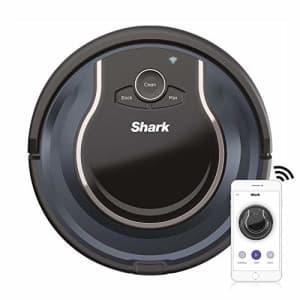 Shark ION Robot App-Controlled Robot Vacuum, RV761 - Black/Navy Blue (Renewed) for $149