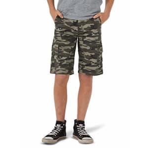 Lee Jeans Lee Boys' Westport Cargo Short, Defender Camo, 20 Regular for $20