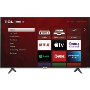"TCL 4-Series 55S435 55"" 4K HDR LED UHD Roku Smart TV for $399"