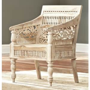Home Decorators Collection Maharaja Solid Sheesham Wood Chair for $242