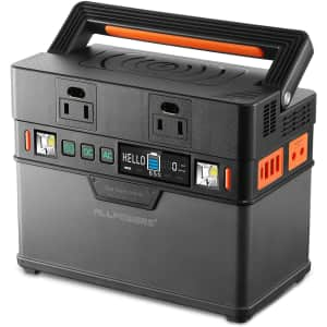 Allpowers 300W Portable Power Station for $169