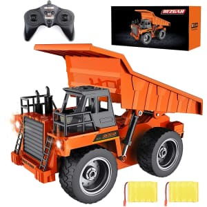 BEZGAR Remote Control Construction Dump Truck Toy for $50