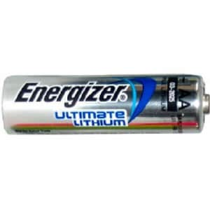 12 x AA Energizer Ultimate Lithium (L91) 1.5 Volt Batteries for $27